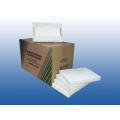 Ref. 4 - Protetor descartável p/ assento sanitário mod. compacto 30 x 40 fls.