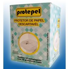 Ref. 70 - Protetor Descartável de Assento Sanitário, emb.de bolso/bolsa 10X12X10 fls.